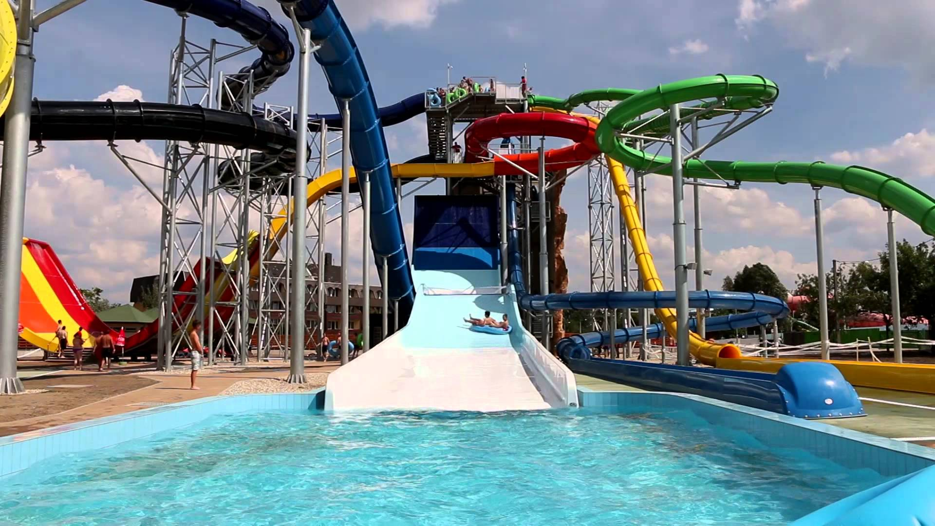 Adrenalin experience at Aqua Park!
